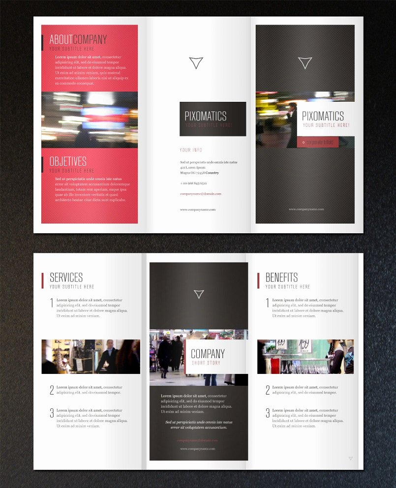 18 Best Free & Premium Brochure Templates