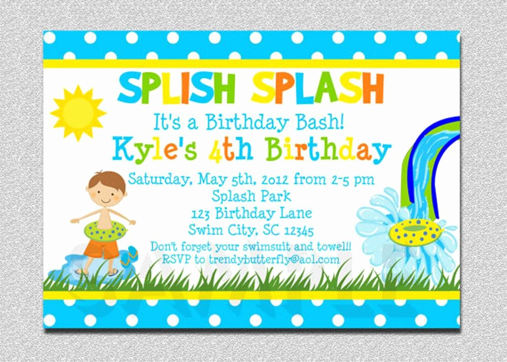18 Birthday Invitations for Kids – Free Sample Templates