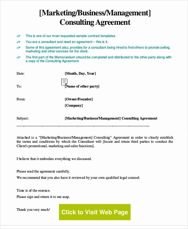 18 Consulting Agreement forms