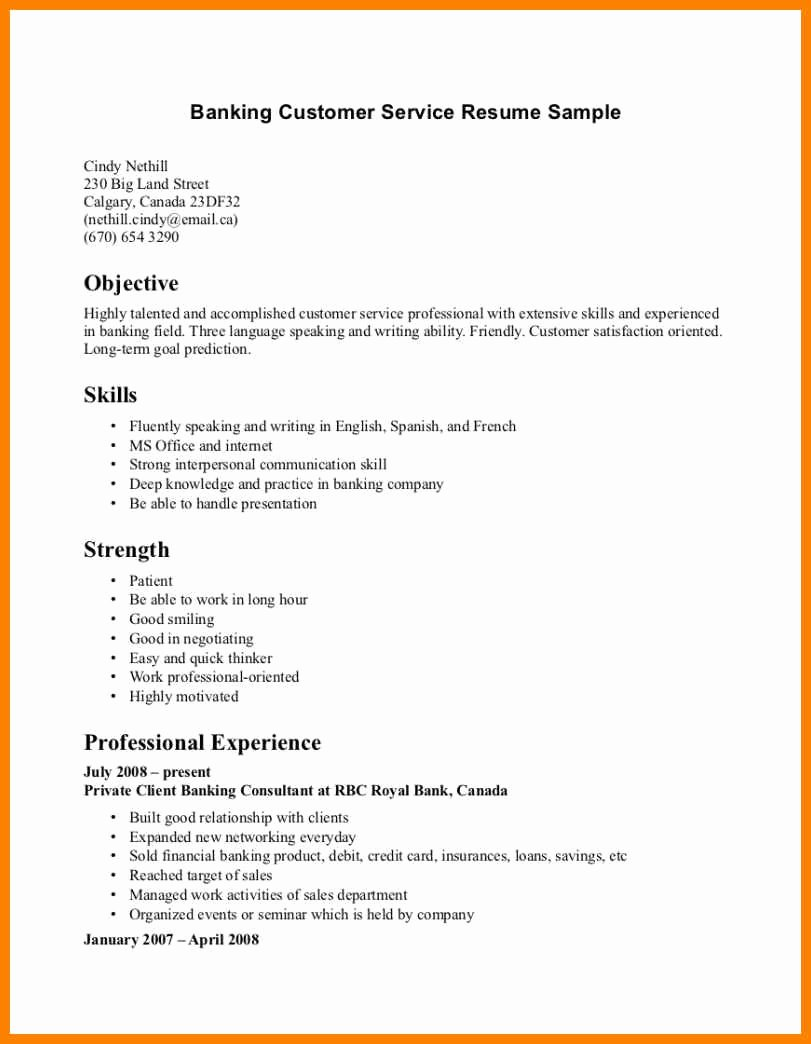 18 Customer Service Resume 2015