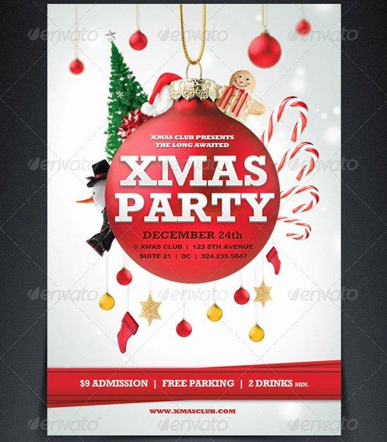 18 Free Christmas Flyer Design Templates