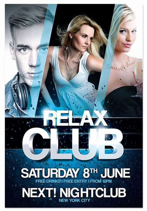 18 Free Shop Psd Club Party Poster and Flyer