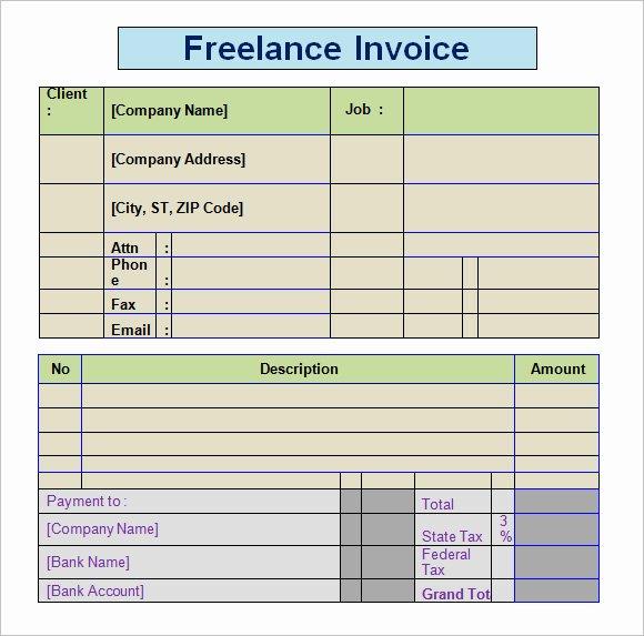 18 Freelance Invoice Design Freelance Invoice