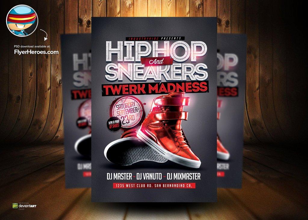 18 Hip Hop Flyers Psd Free Hip Hop Flyer