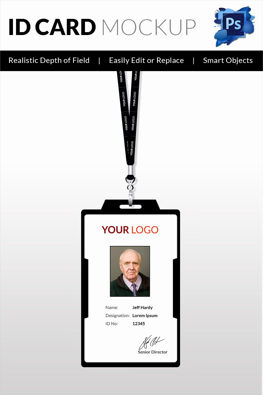 18 Id Card Templates – Free Psd Documents Download