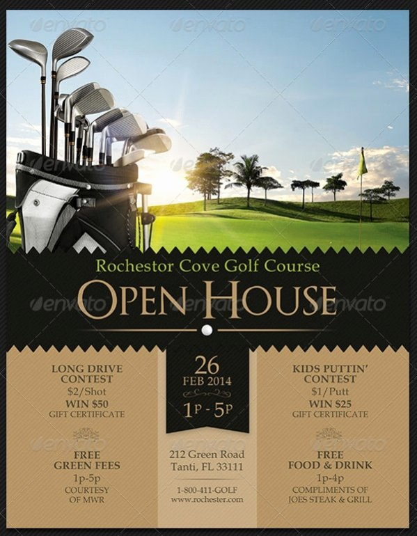 18 Open House Flyers Psd Vector Eps Download