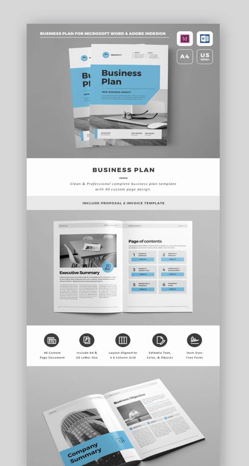 18 Professional Business Project Proposal Templates for