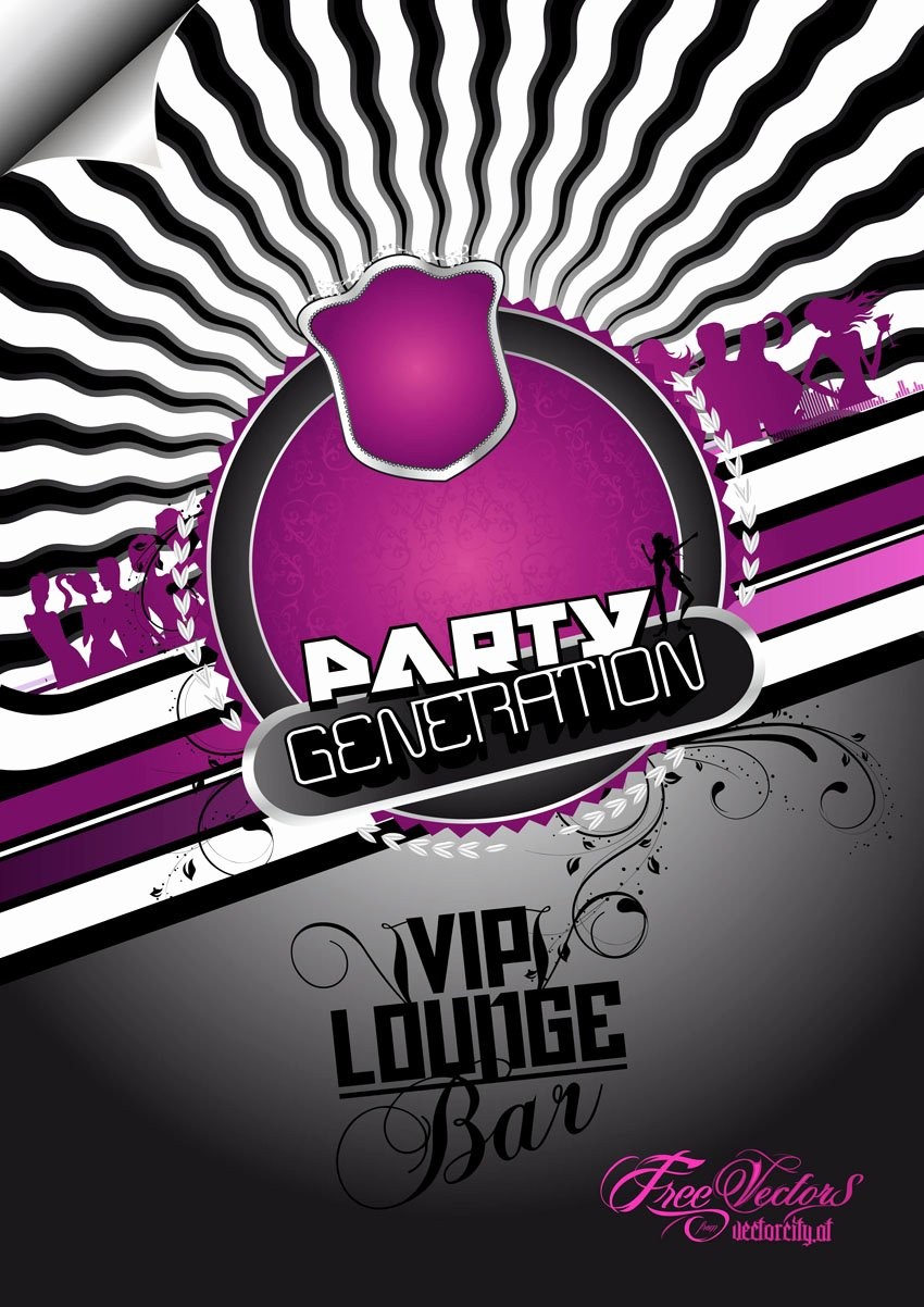 18 Psd Party Flyer Background Free Club Flyer