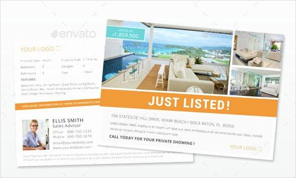 sample real estate postcard