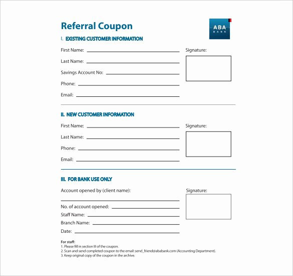 18 Referral Coupon Templates Psd Ai Indesign