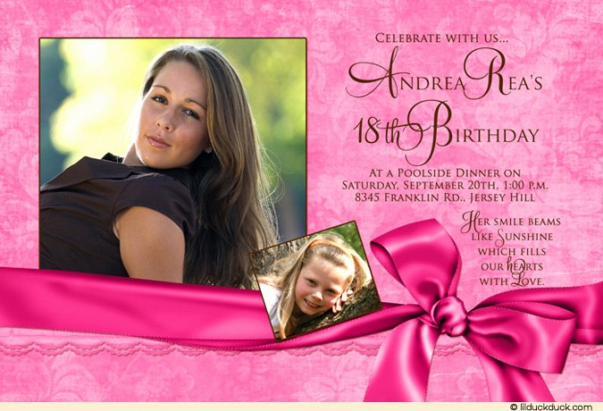 18th Birthday Invitation Maker and How to Make Your Own