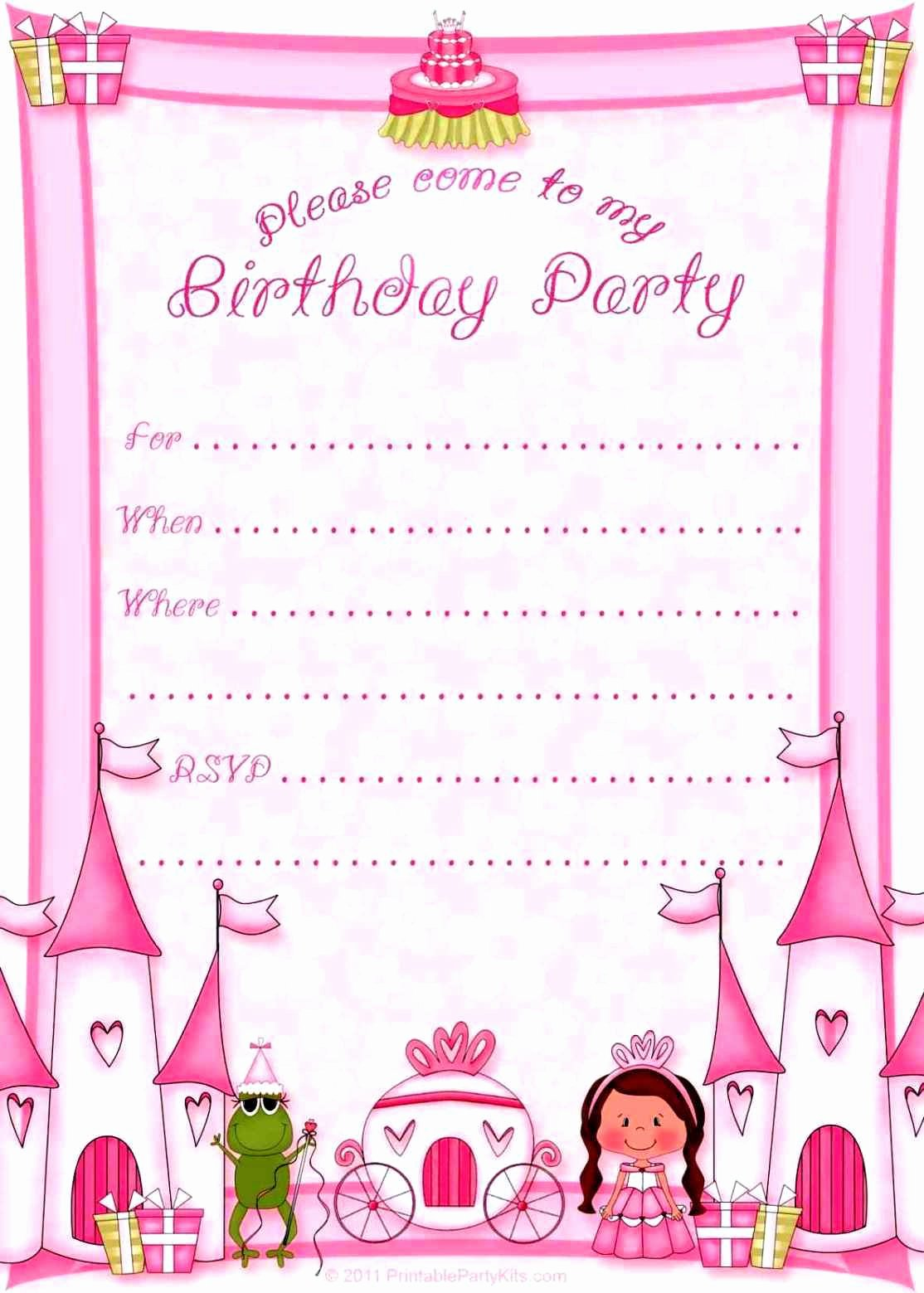 18th Birthday Invitations Templates Free Template Latter Example