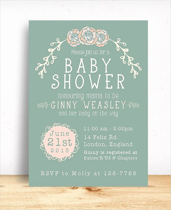19 Baby Shower Cards Free Psd Vector Ai Eps format