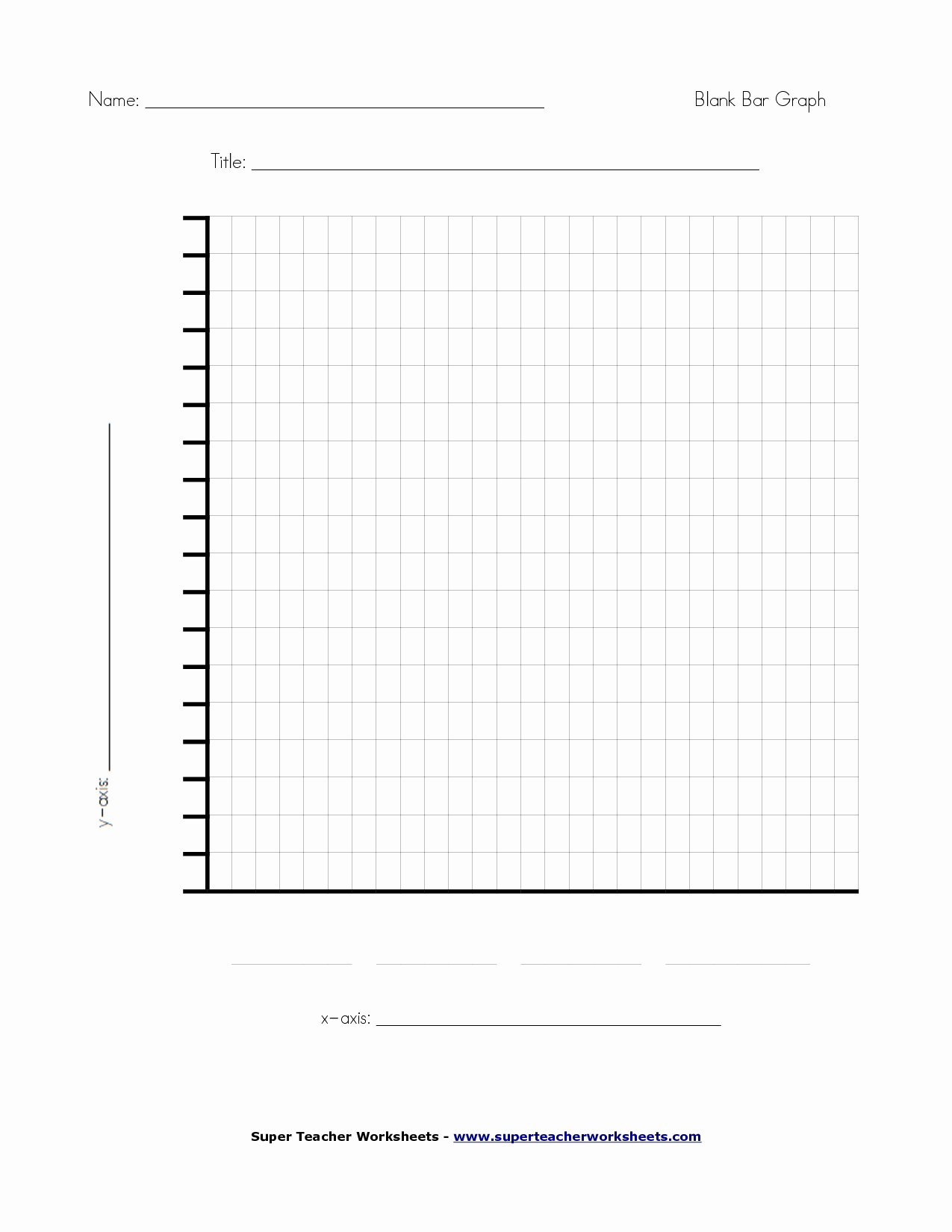 19 Best Of Super Teacher Worksheets Bar Graph