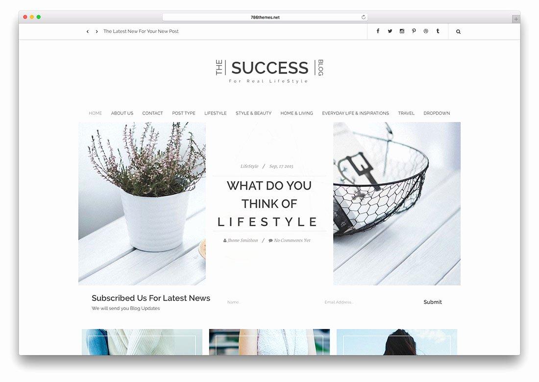 19 Best Responsive HTML5 Css3 Blog Templates 2018 Colorlib