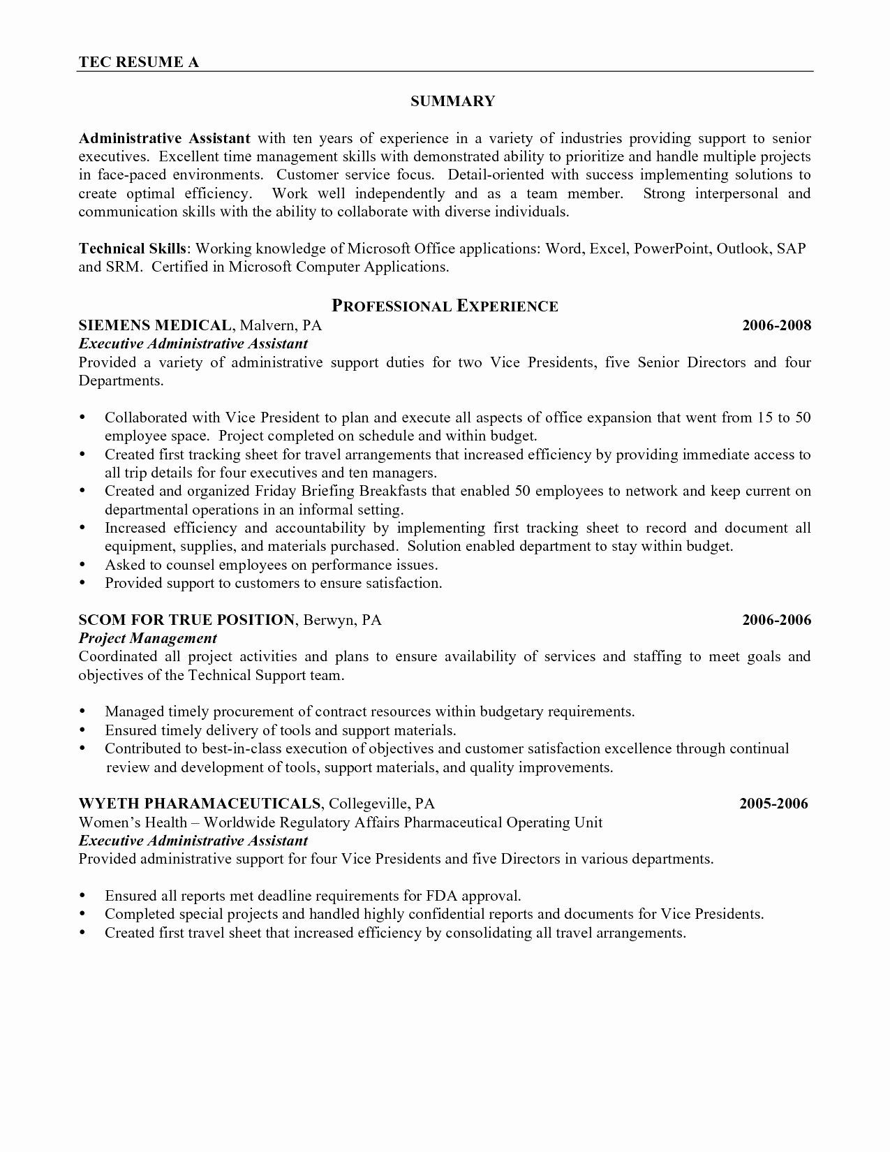 19 Best Service Advisor Resume