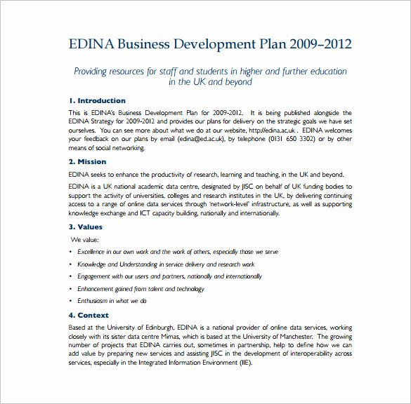 19 Business Plan Templates Free Sample Example format