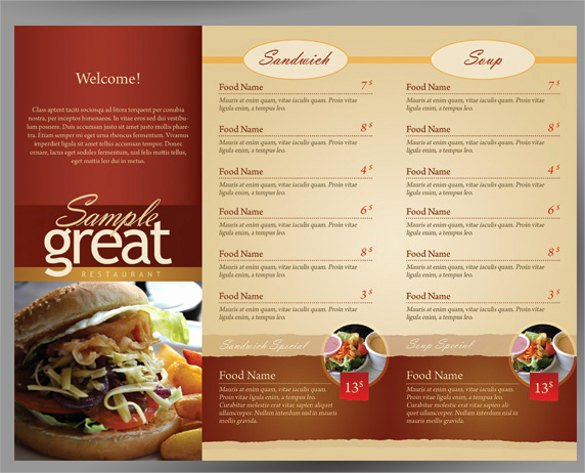 19 Cafe Menu Templates