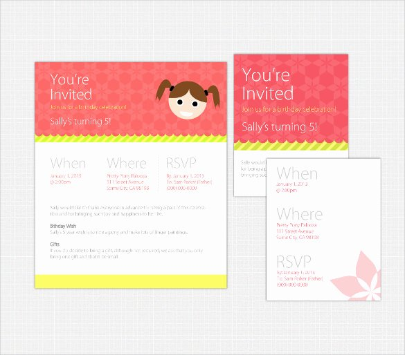 19 Email Birthday Invitation Templates – Psd Ai