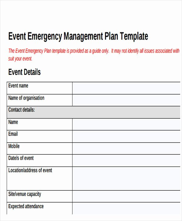 19 event Plan Templates In Pdf