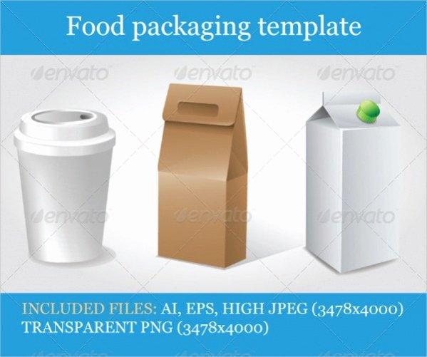 19 Food Packaging Designs Jpg Psd Ai Illustrator Download