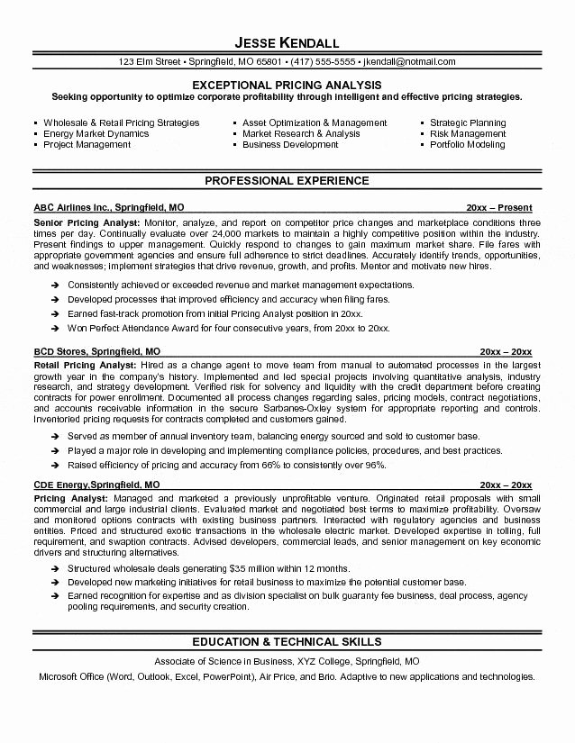 19 Fresh Supply Chain Analyst Resume
