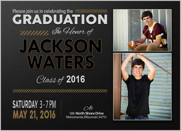 19 Graduation Invitation Templates Invitation Templates