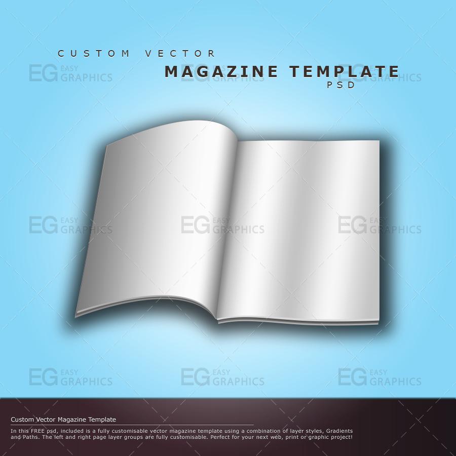 19 Magazine Cover Template Psd Free Psd Magazine
