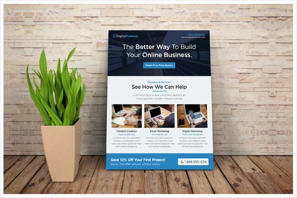 19 Marketing Flyer Templates Word Psd Eps Documents