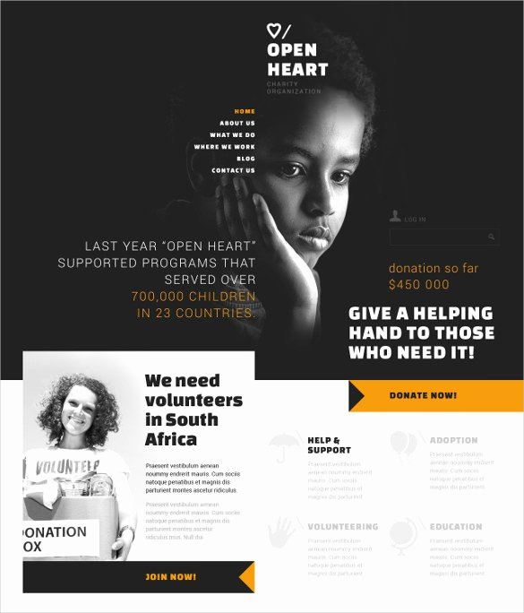 19 Non Profit Website themes & Templates