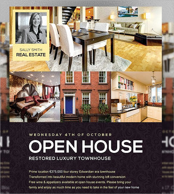 19 Open House Flyers