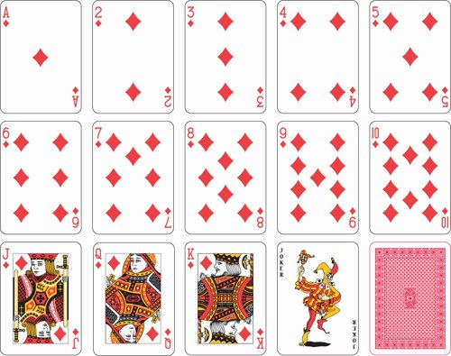 19 Playing Cards Art Vector Free Playing Cards