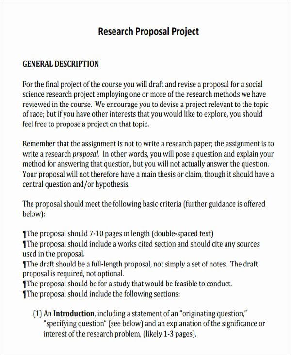 19 Project Proposal Templates