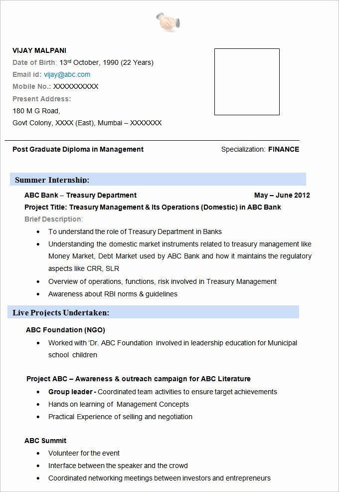 19 Resume Examples Pdf Doc