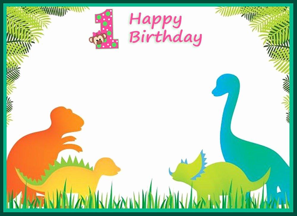 19 Roaring Dinosaur Birthday Invitations