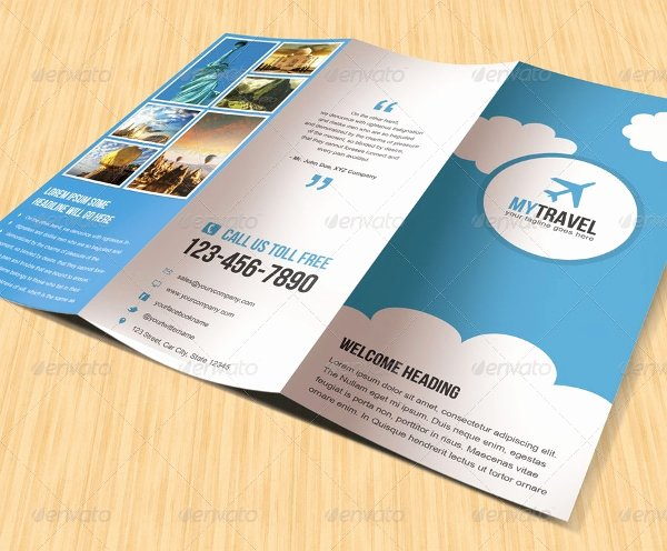 19 Travel Brochure Free Psd Ai Vector Eps format