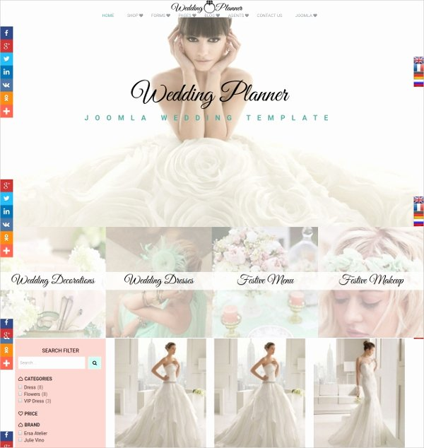 19 Wedding Website themes & Templates