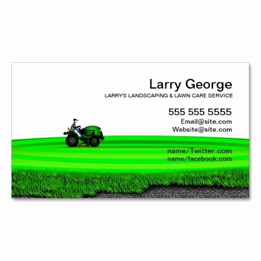 197 Best Lawn Care Business Cards Images On Pinterest