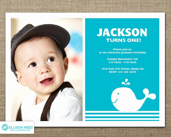 1st Birthday Invitations Ideas for Boys – Bagvania Free