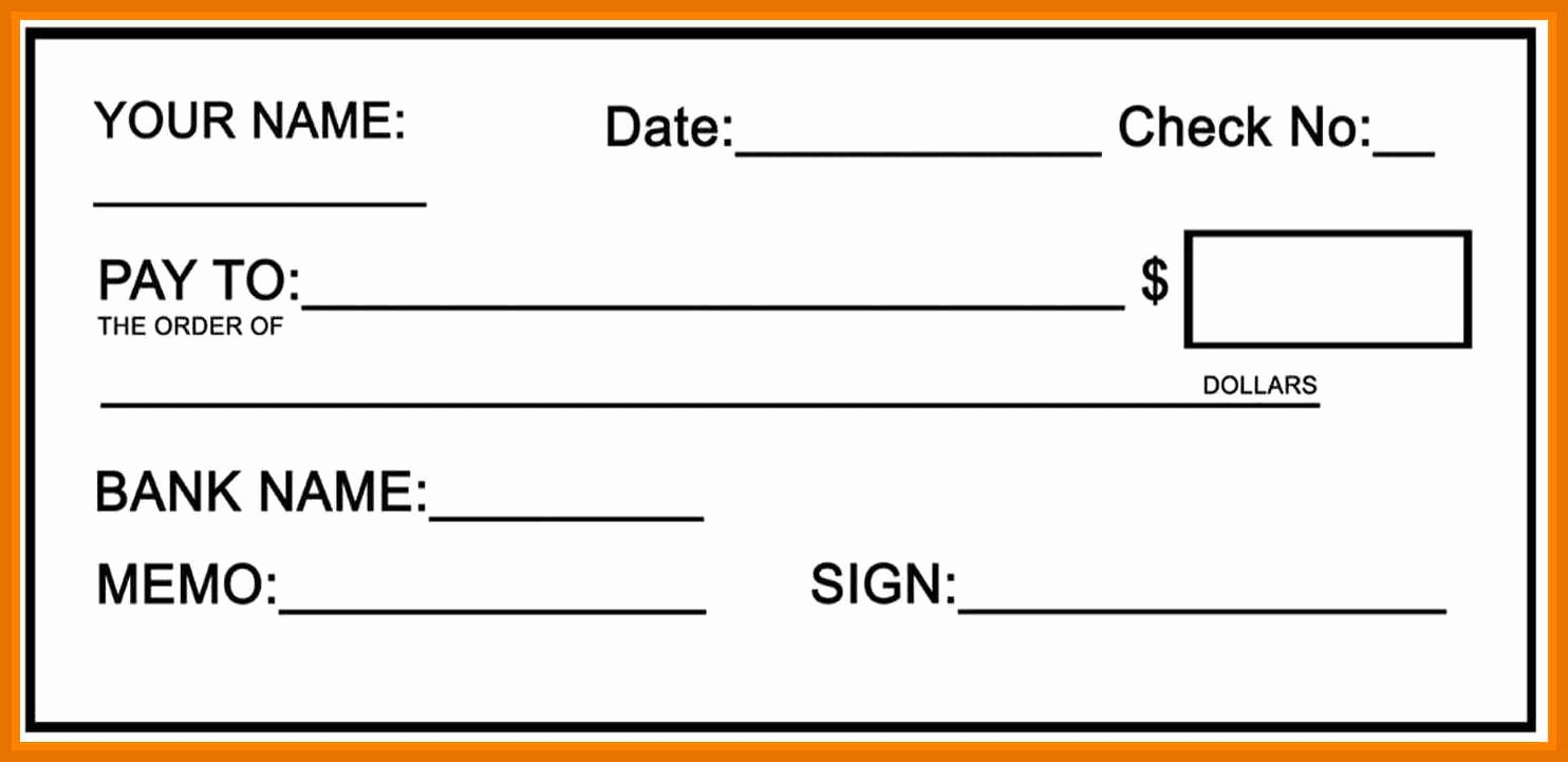 2 3 Cheque Template