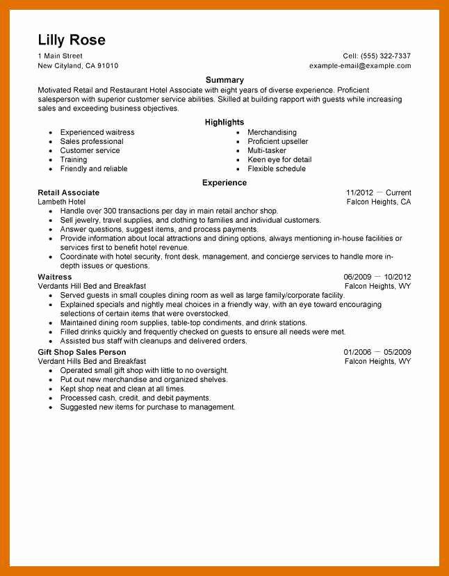 2 3 Sales associate Skills List for Resume