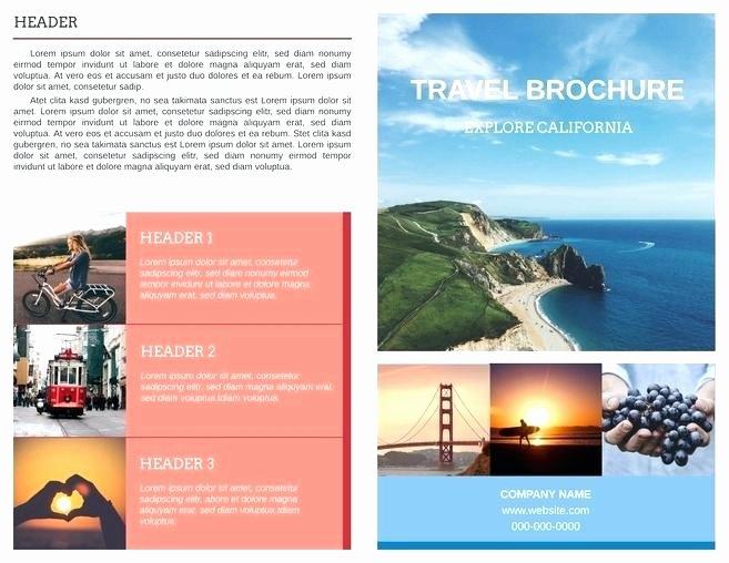 2 Panel Brochure Template – Onairprojectfo