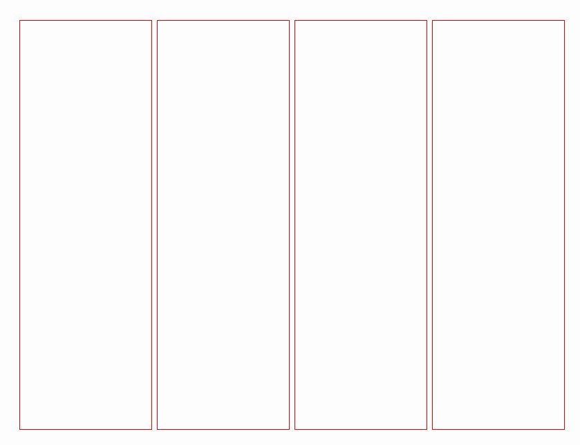 2 Sided Bookmark Template Reverse Search