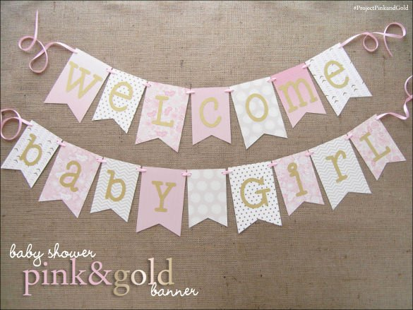 20 Baby Shower Banner Templates – Free Sample Example