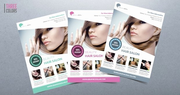 20 Beauty Salon Flyer Templates Printable Psd Ai