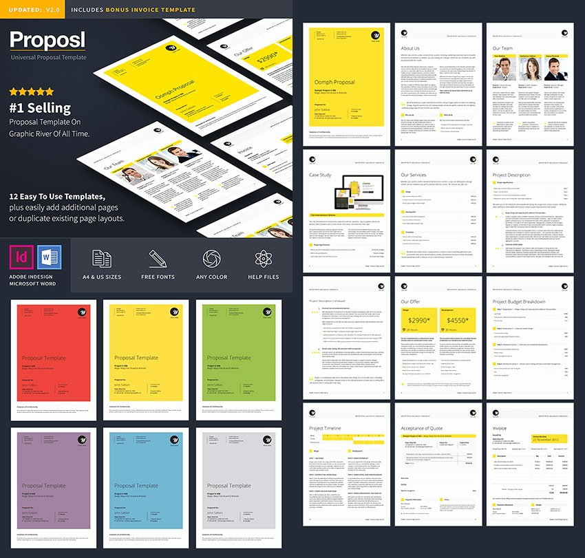 20 Best Business Proposal Templates Ideas for New Client