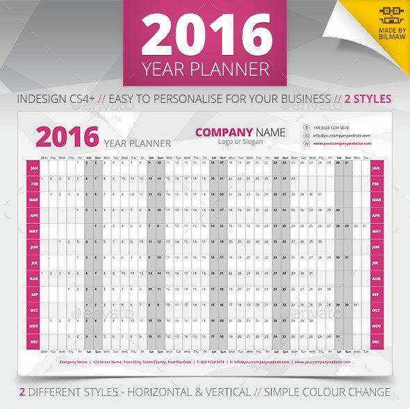 20 Best Calendar Template Designs 2016 Print