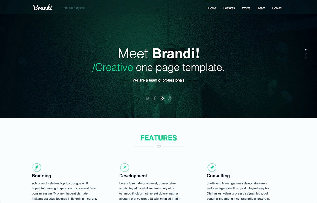 20 Best Free Psd Website Templates 2015 Colorlib