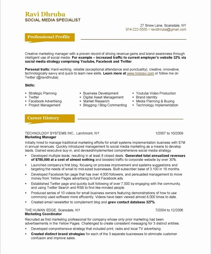 20 Best Images About Marketing Resume Samples On Pinterest