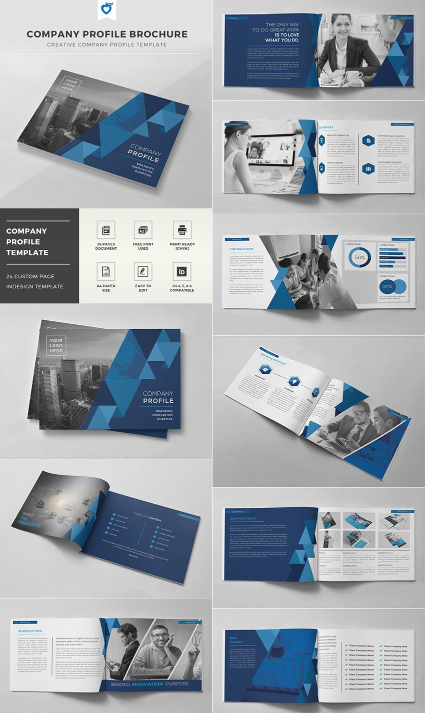 20 Best Indesign Brochure Templates for Creative
